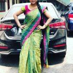 Alya Manasa, Raja Rani Serial Heroine, black car, thalaivar pose