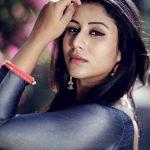Alya Manasa, Raja Rani Serial Heroine, side pose, new look