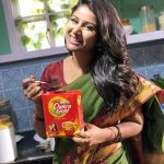 Alya Manasa, Raja Rani Serial Heroine, tea, coffee, ad, morning