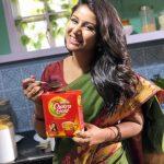 Alya Manasa, Raja Rani Serial Heroine, tea, coffee, ad, morning