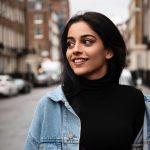 Banita Sandhu, Varma New Heroine, smile, side pose, rare