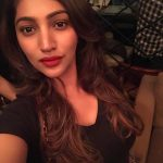 Bommu lakshmi, 90 ml actress, selfie, top view