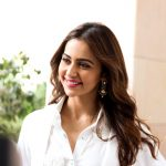 Dev Press Meet, hd, wallpaper, Rakul Preet, actress