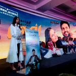 Dev Press Meet, stage, rakul preet, cover