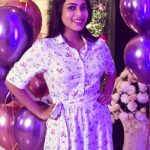 Keerthi Shanthanu, colour tv, anchor, kiki vijay