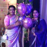 Keerthi Shanthanu, mother, mom, Poornima Bhagyaraj