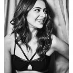 Rakul Preet Singh, glamour, tamil actress, black & white, hd