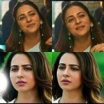 Rakul Preet Singh, smile, collage, hd, dev, dev movie
