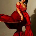 Samantha Akkineni, red dress, photoshoot, cute