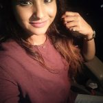 Sharanya Turadi, Run Serial Heroine, Sun Tv,  night, selfie, cute