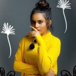 Shree Gopika, 90 ml Actress, yellow t shirt, modern