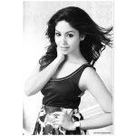 Shritha Sivadas, photoshoot, Dhilluku Dhuddu 2, black & white