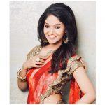 Shritha Sivadas, photoshoot, saree, hd