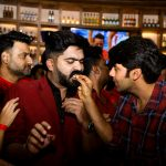 Simbu Birthday Celebration, megha akash, arya, str, cake