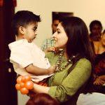 Soundarya Rajinikanth, mom, VedKrishna, son