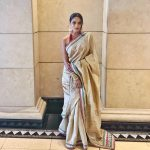 Chandrika Ravi, saree, traditional