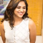 Indhuja Ravichandran, white dress, sweet