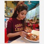 Ritika Singh, red t shirt, hotel