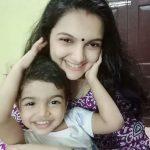 Saranya Mohan, baby, new look