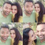 Saranya Mohan, beautiful couple