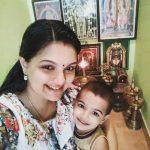 Saranya Mohan, god, smile