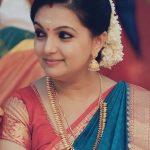 Saranya Mohan, saree, treditional