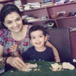 Saranya Mohan, son, food
