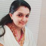 Saranya Mohan, white dress, cute