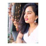 Srushti Dange, Lots Of Love Actress, side pose
