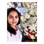 Srushti Dange, selfie