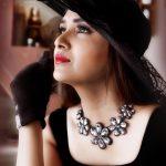 Vani Bhojan, black cap, black dress, photo shoot