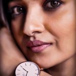 Vani Bhojan, face, close up, watch