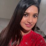 Vani Bhojan, red dress