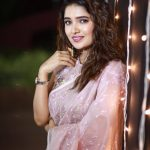 Vani Bhojan, saree, function, night