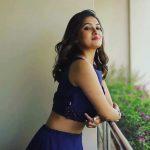 Vani Bhojan, unseen, blue dress