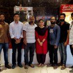 Ammu Abhirami, Vettri Theatre, auran fdfs, recent picture