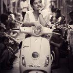 Ammu Abhirami, movie still, asuran, black & white