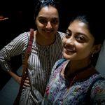 Ammu Abhirami, selfie, Manju Warrier, asuran actresses