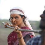 Asuran, saree, manju warrier, movie